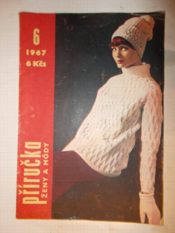 b76a5310a2a Příručka časopisu žena a móda 6 1967