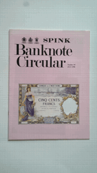 Spink Bank Note Circular 10