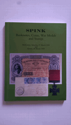 Aukční katalog - Spink Banknotes, Coins, War Medals and Stamps Melbourne 27/28 March 1999