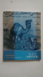 Aukční katalog - Spink Banknotes London 20 April 1999