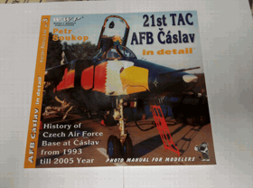 21st TAC AFB in detail - history of Czech Air Force base at Čáslav from 1993 till 2005 year