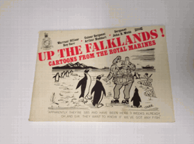 Up the Falklands - Cartoons from the Royal Marines