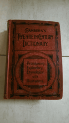 Chambers's Twentieth Century Dictionary of the English Language