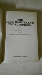 The Handyman's Encyclopedia