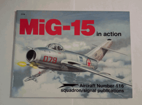 MiG-15 in action - Aircraft Number 116