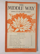 The Middle Way - Journal of the Buddhist Society Vol. XXXVIII No. 2