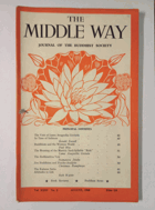 The Middle Way - Journal of the Buddhist Society Vol. XXXV No. 2