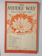 The Middle Way - Journal of the Buddhist Society Vol. XXXVII No. 2