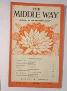 The Middle Way - Journal of the Buddhist Society Vol. XXXV No. 1