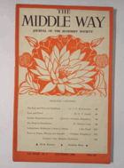 The Middle Way - Journal of the Buddhist Society Vol. XXXIII No. 3