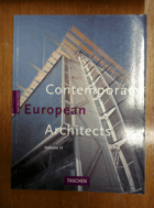 Contemporary European architects - Vol 2