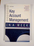 Key Account Management in a Week