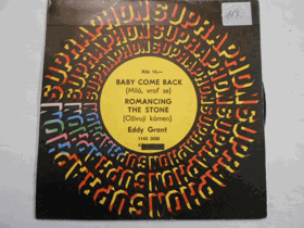 Baby come back - Romancing the stone